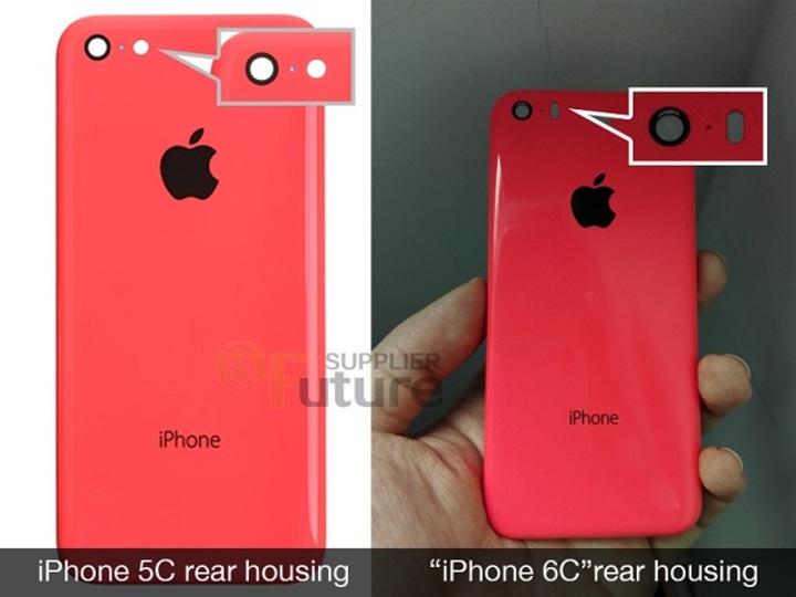 iPhone 5cそっくりな「iPhone 6c」らしきパーツが早くも流出?
