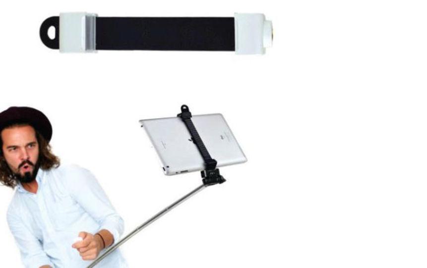 自撮りセルカ棒、iPadでも使いたい?