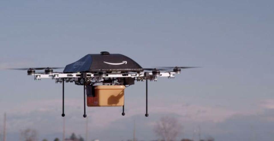 アマゾンが米国にしびれを切らし、カナダでドローン配達テスト中
