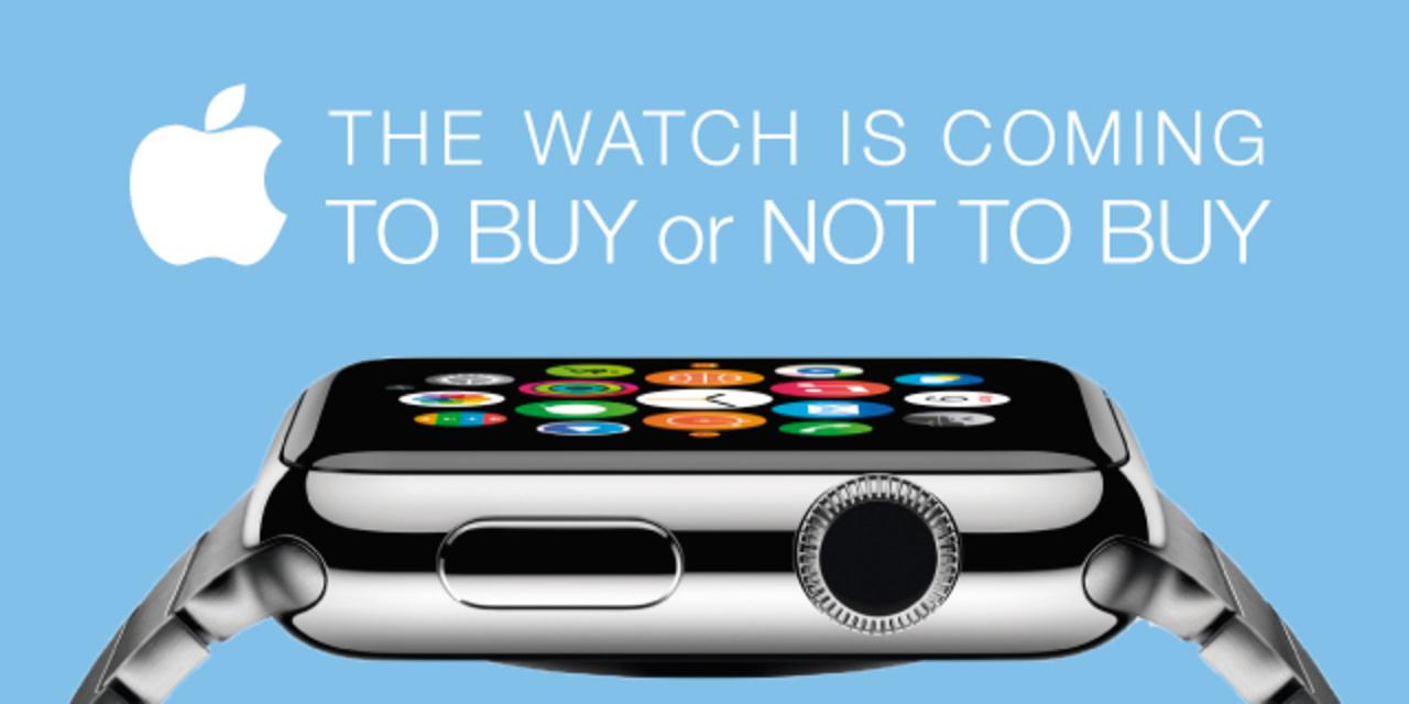Apple Watch買う?買わない?読者アンケート結果、大発表!