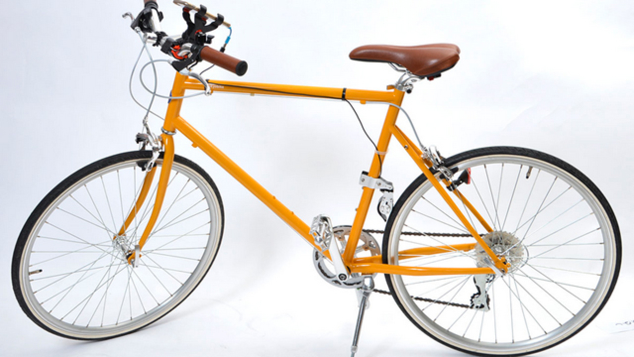 自転車でスマホが充電できたら、嬉しくない?