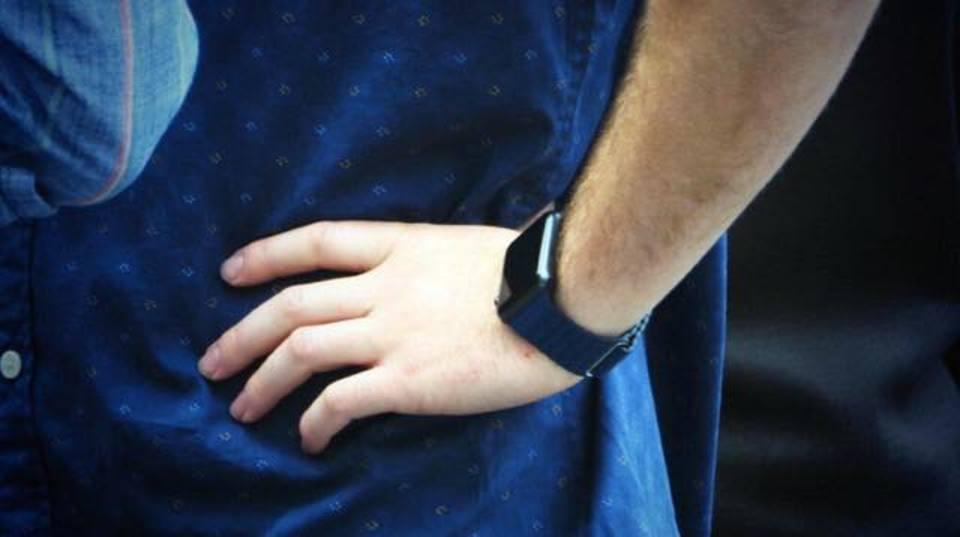 「Apple Watch」すでにお外でつけている人が! #AppleLive
