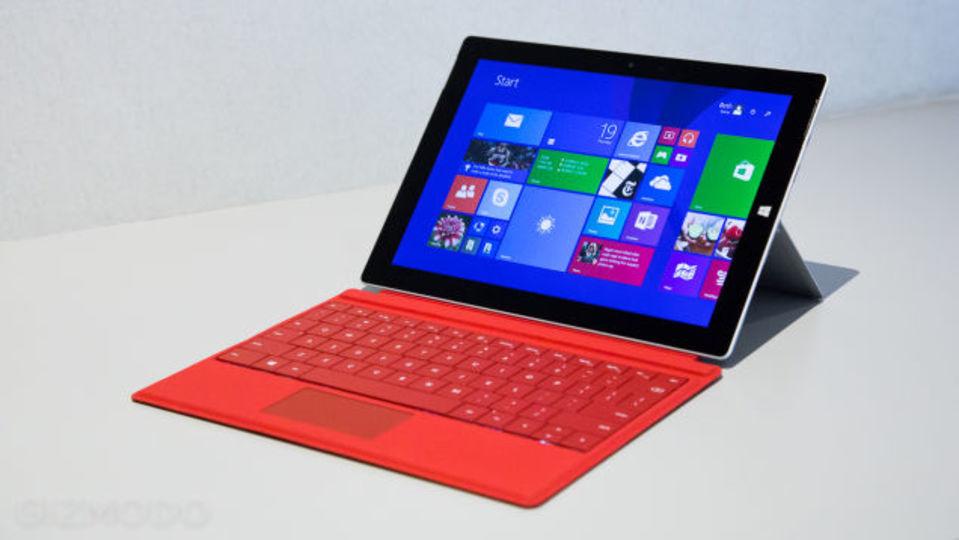 「Surface 3」ハンズオン:歴代最薄・最軽量・フルWindows 8.1搭載で言うことなし