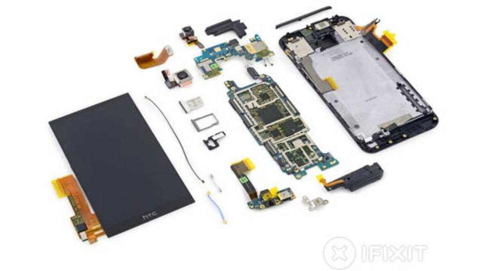 HTC One M9解剖! 素人が分解するのはオススメしません