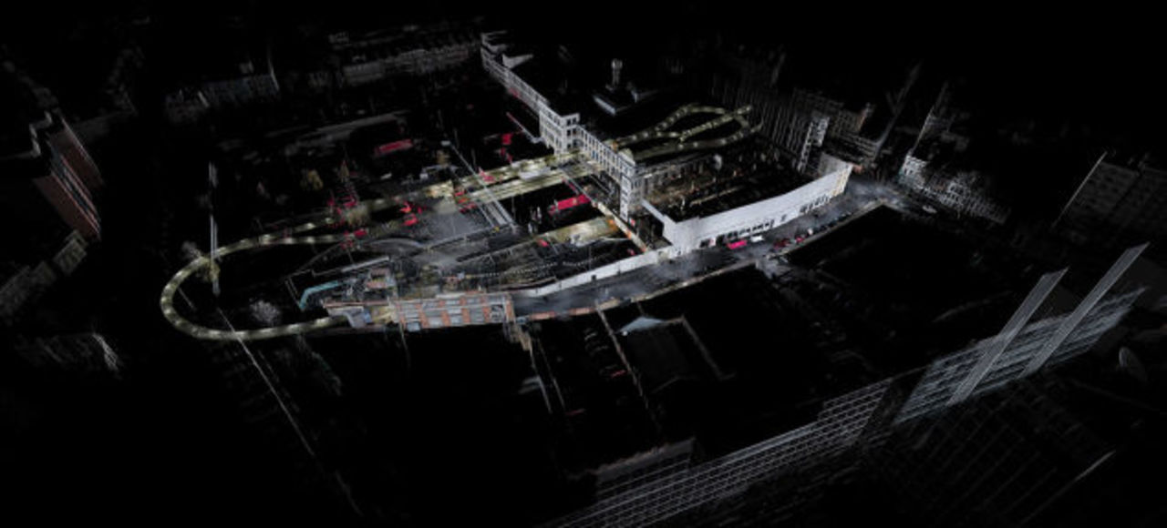 ロンドンの地下に眠る巨大な廃墟、3Dスキャンで甦ったその姿は…