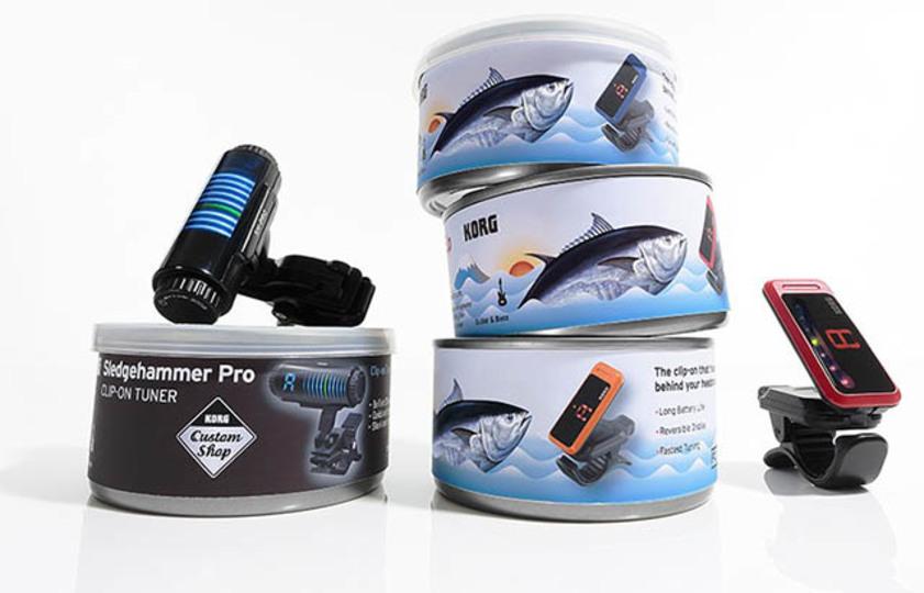 KORGチューナー40周年記念は缶詰です。繰り返します、缶詰です