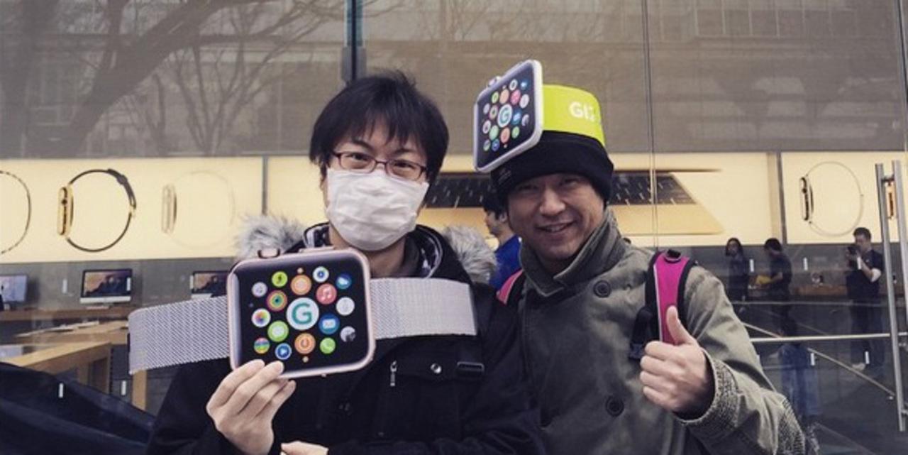 Apple Store表参道:試着予約完了! #AppleWatch #ギズモード