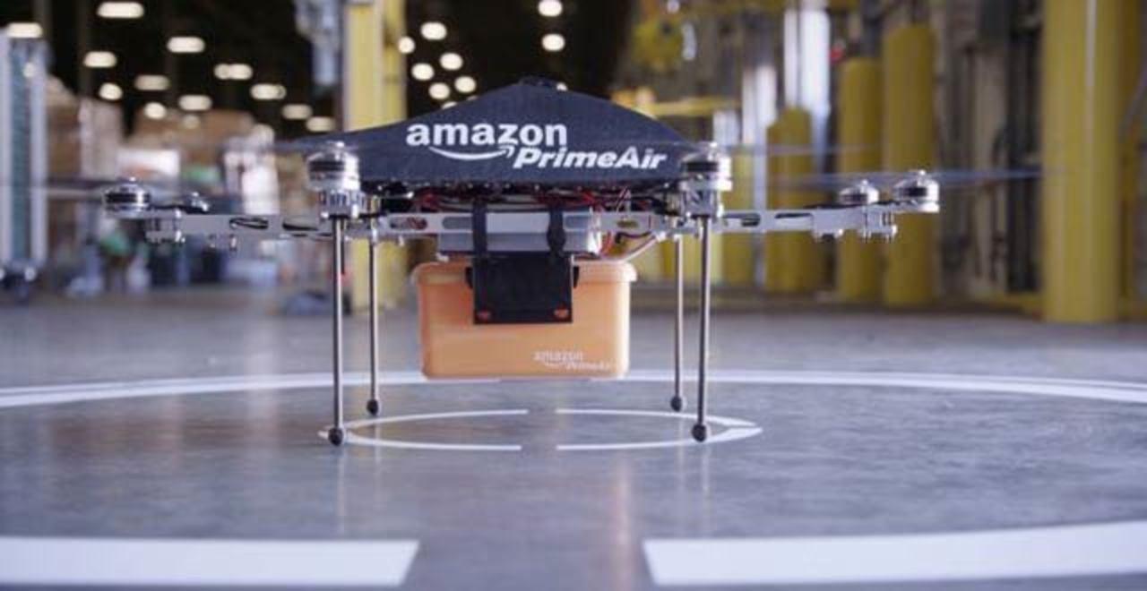 アマゾン、ドローン配達のテストをついに米国で開始