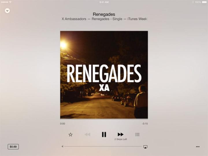 iOS 8.4では音楽アプリ「ミュージック」の仕様がガラっと変わる