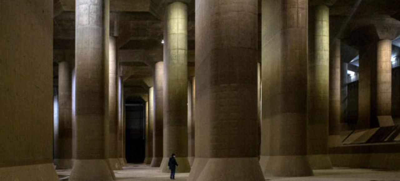 これが春日部だと…!? 世界最大級の地下放水路が神殿にしか見えない