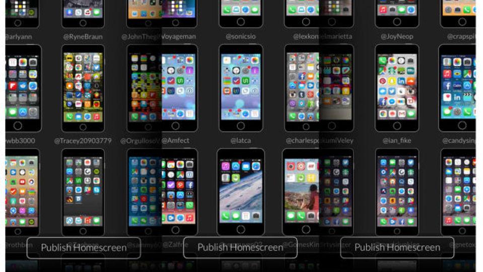 他人のiPhoneのホーム画面が気になるならシェアしちゃおうぜってアプリ
