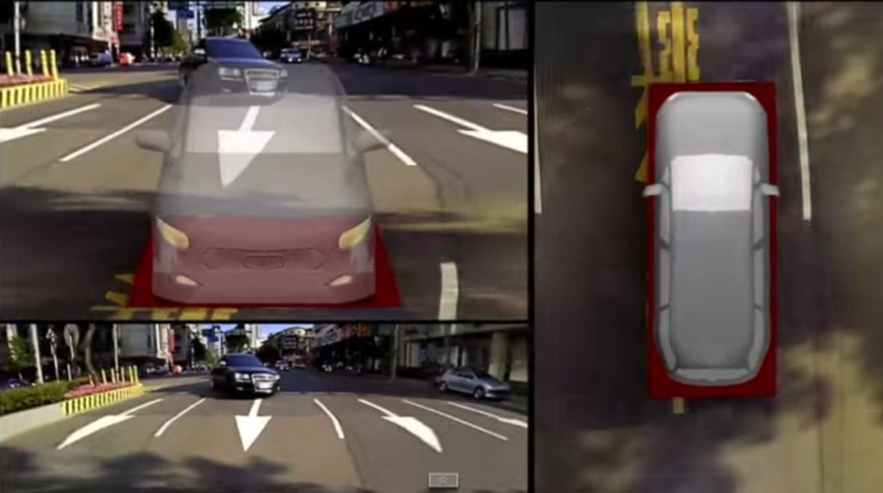 360度リアルタイム3Dビューで車の運転に死角なし!