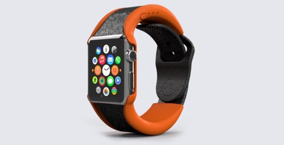 かなりアクが強いApple Watchのバッテリー内蔵バンド
