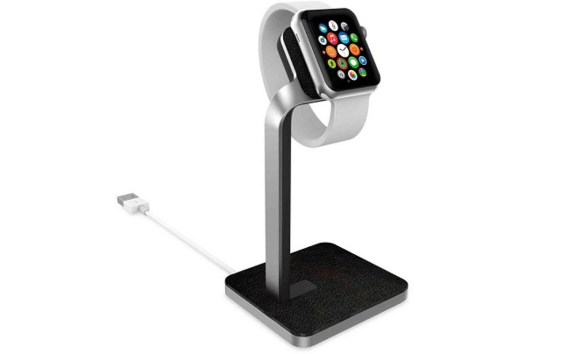 彫刻みたいに美しいApple Watch用アルミスタンド