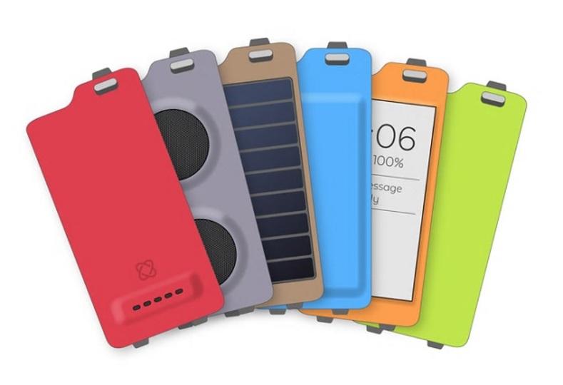 ヘルスケア以外にもどんどん機能を追加できるiPhoneケース