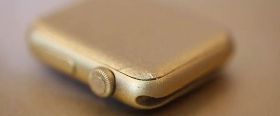 4万円のApple Watchをゴールドに変身させる方法