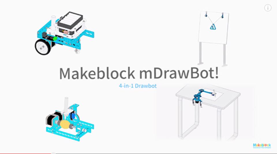 小さなロボットがあなたの代わりに絵を描いてくれます