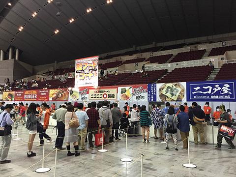 超フードコートでニコニコなご飯をいただきます!(追記あり) #ニコニコ超会議2015