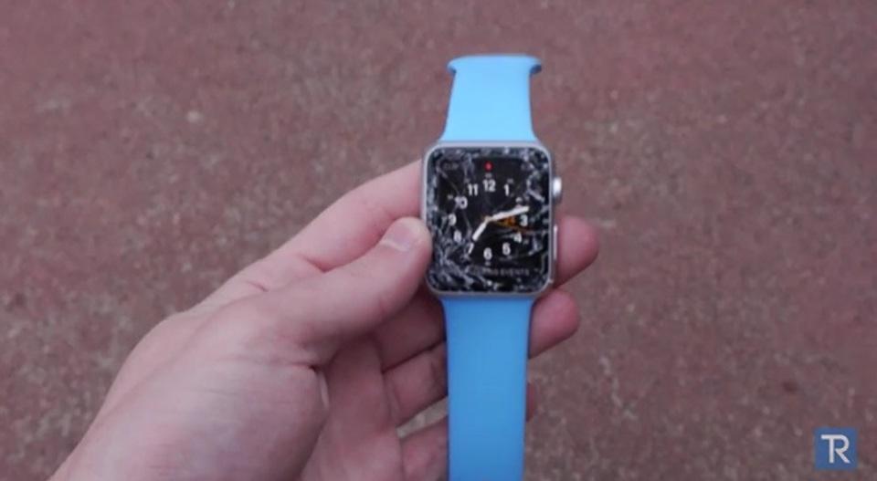 Apple Watchをドロップテストしたら、意外と弱かった