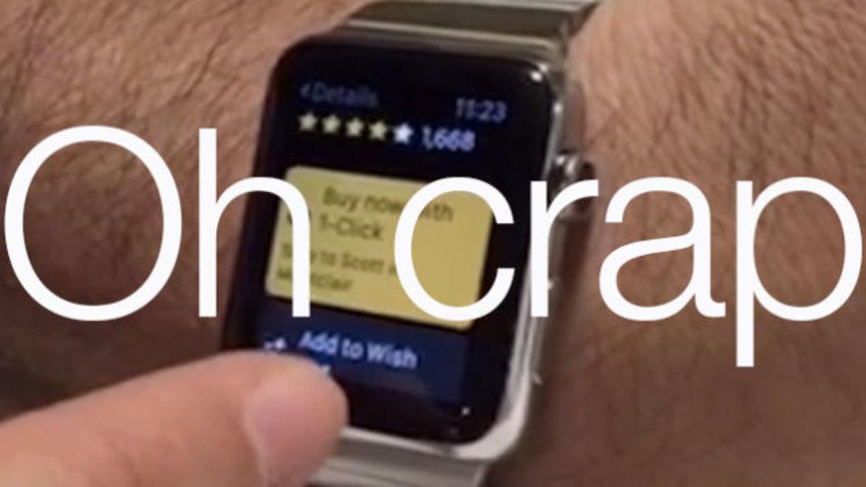 Apple Watchデモ中にアクシデント! 間違えてXbox買っちゃった…