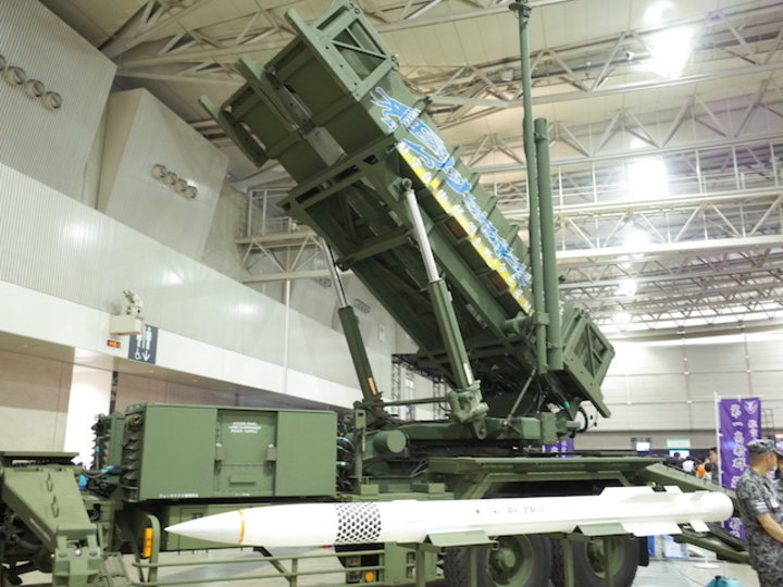 陸上自衛隊のペトリオット・ミサイルは技術の塊 #ニコニコ超会議2015