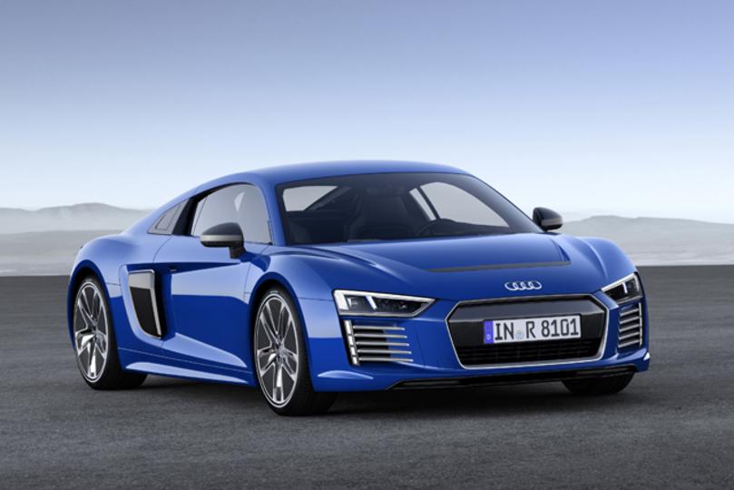 アウディの新EVスポーツカー「R8 e-tron」コンセプトは自動運転
