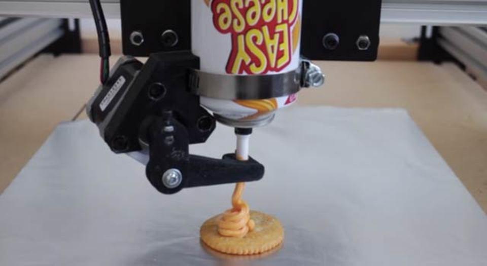 3Dチーズプリンター、まだ時代が追いつかなかった
