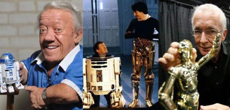 R2-D2とC-3PO、中身の演者は不仲だった!
