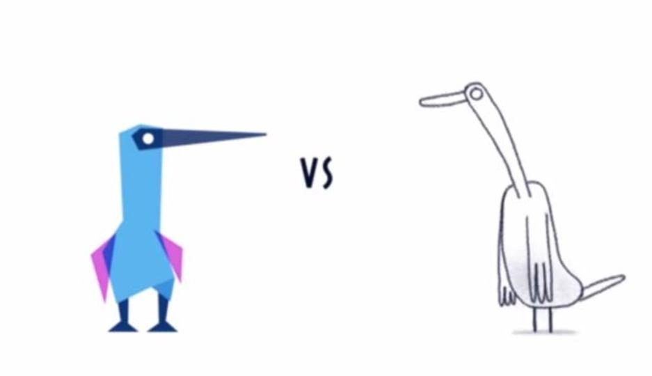 デジタル VS 手書きアニメーション対決