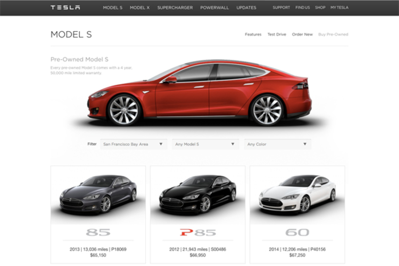 新たな顧客層の獲得につながるかも。テスラが認定中古車販売を開始