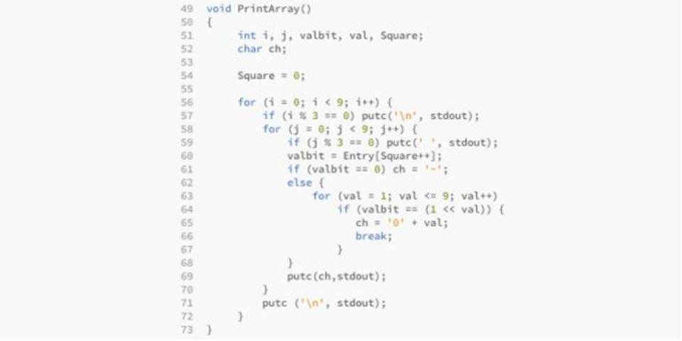 シンガポール首相がC++で書いた数独解法コードで遊ぼう