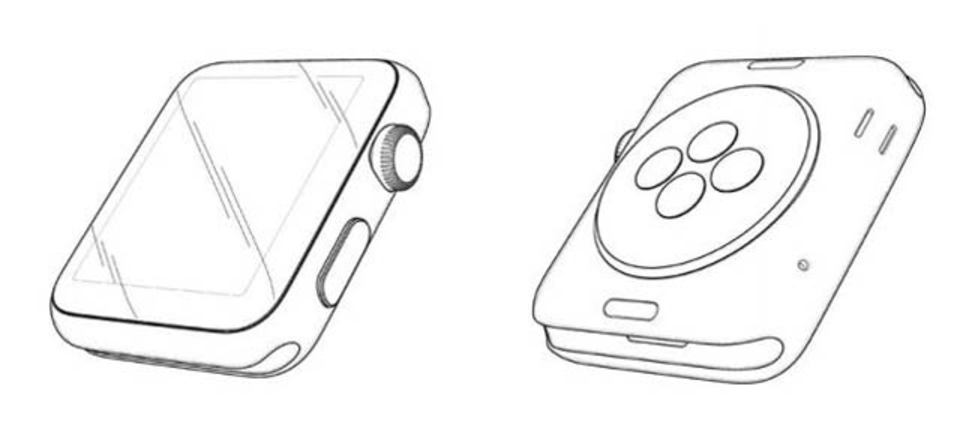 アップルがApple Watchのデザイン特許取得