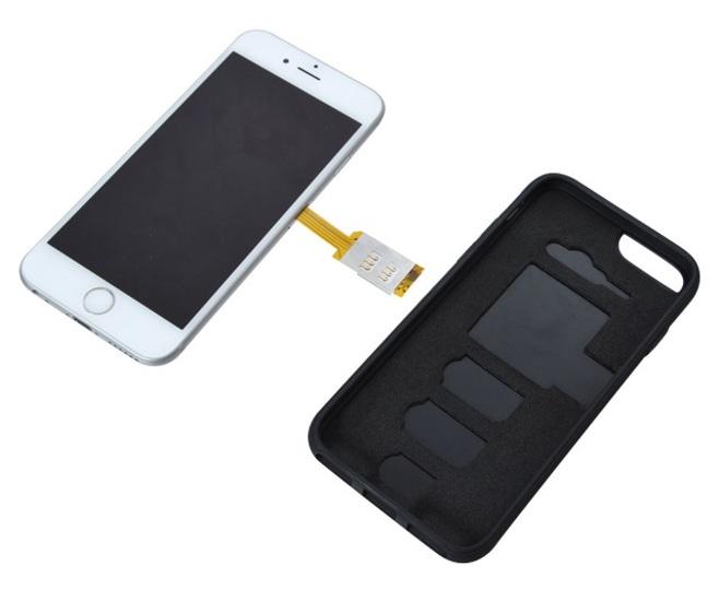 使い道は無限大。iPhone 6用のSIM二枚搭載アダプタ