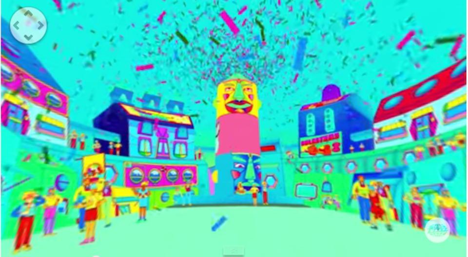 スクエアプッシャーの新ミュージックビデオはVR、360度で遊べる