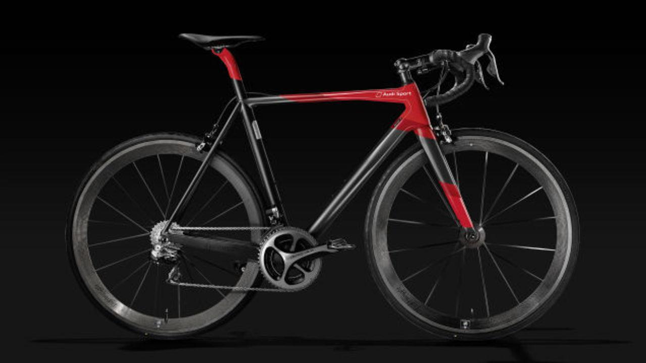 たった5.8kgの自転車、アウディから。ただしお値段も驚愕の…