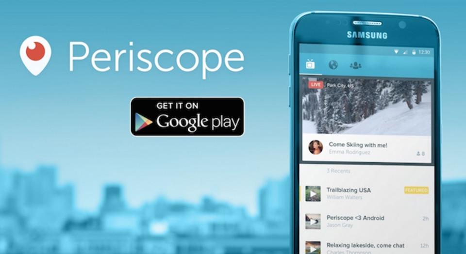 もっともテレポーテーションに近いアプリ「Periscope」がAndroidにも来たよ