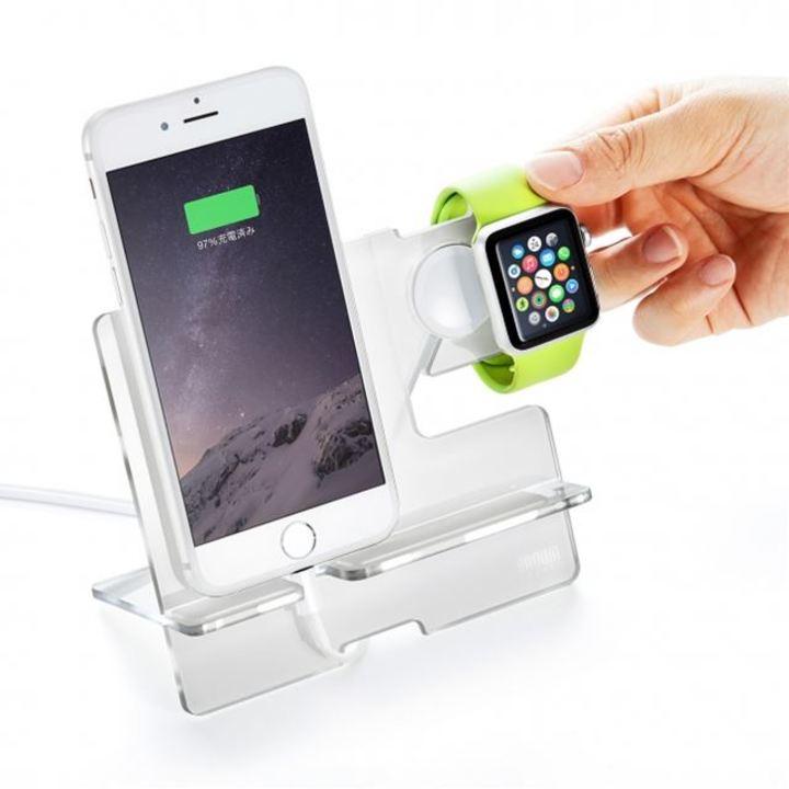 iPhoneとApple Watchを同時に充電できるマルチなスタンド