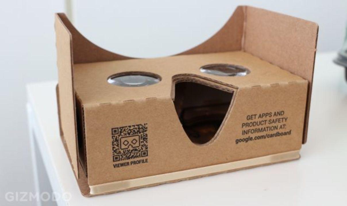新Google Cardboardにハンズオン:ちょっと大きくなったけど、まだまだ #io15