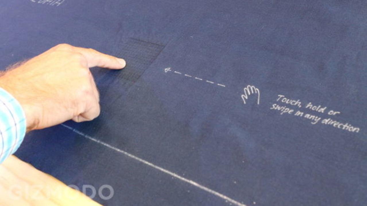 布がタッチセンサーになる。Project Jacquardにハンズオン #io15