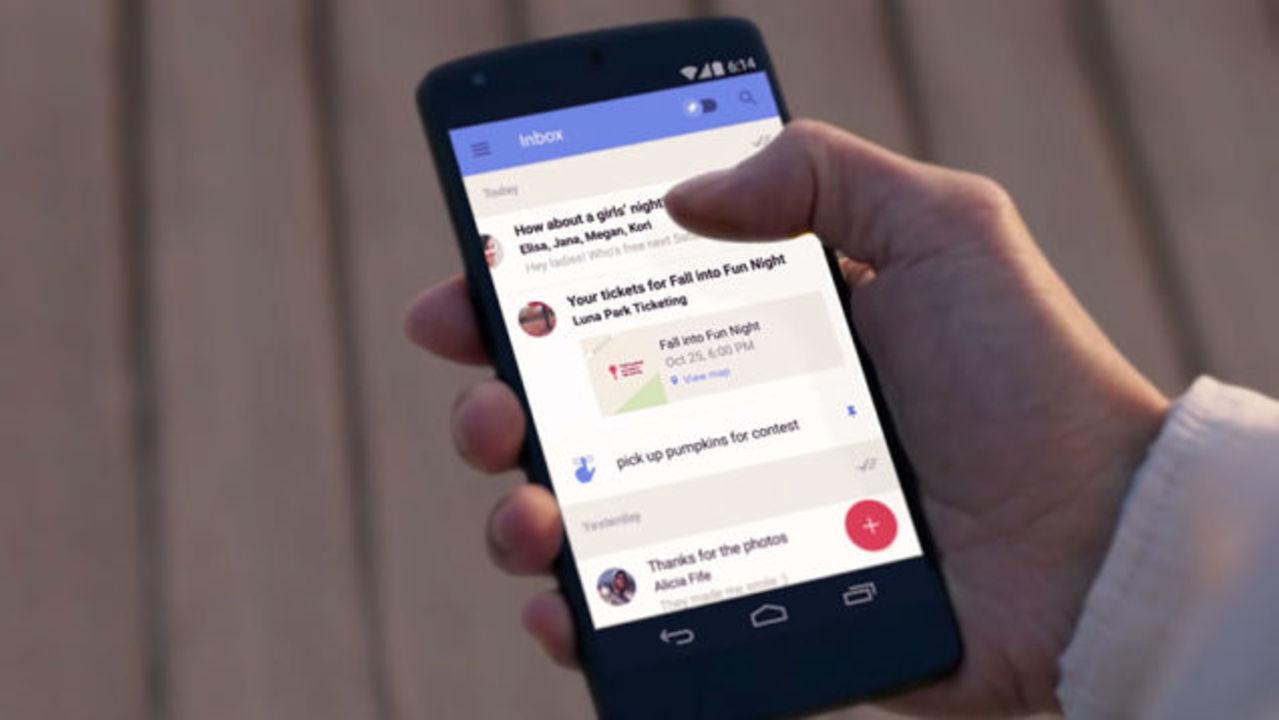 グーグルの次世代メールアプリ「Inbox」が一般公開されたよ #io15 #io2015