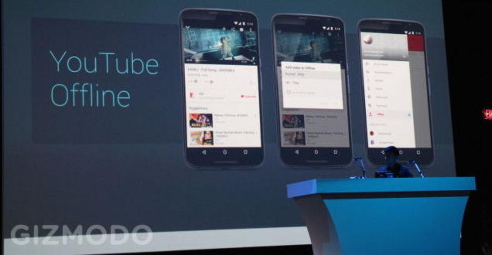 グーグルマップ・Chrome・YouTube…全部オフライン利用対応へ! #io15