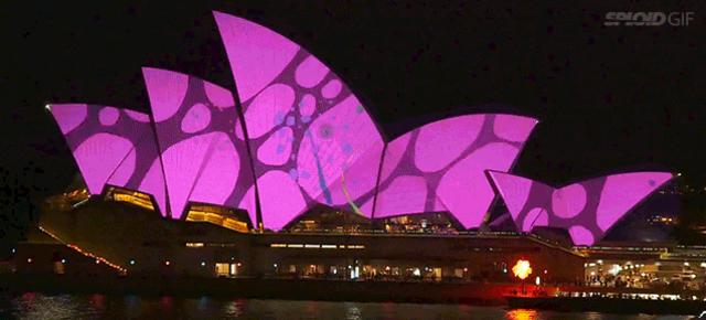シドニー・オペラハウスにプロジェクションマッピング。世界中のアニメーションスタジオが集結