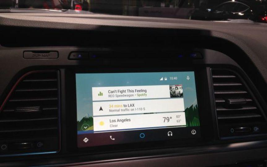 初の「Android Auto」搭載車、ヒュンダイより登場