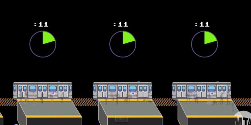電車の時間調整ってなんで起こるの?をファミコン風に説明してくれる動画