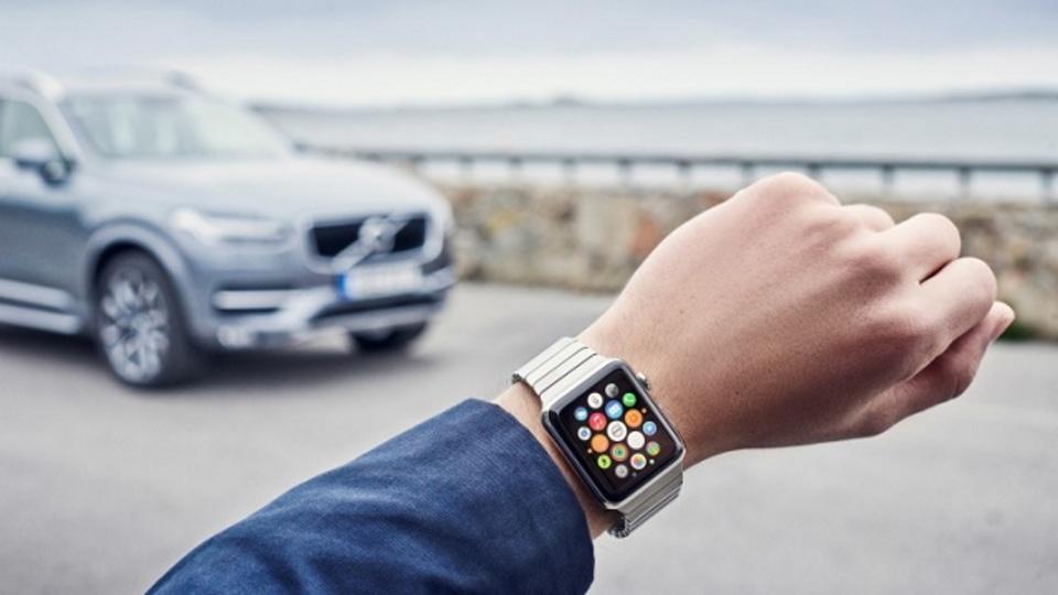 ボルボの車もコントロールできる。そう、Apple Watchならね
