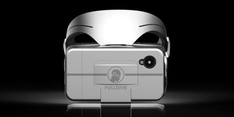 29ドルで仮想空間へ。新しいVRヘッドセット「FULLDIVE」
