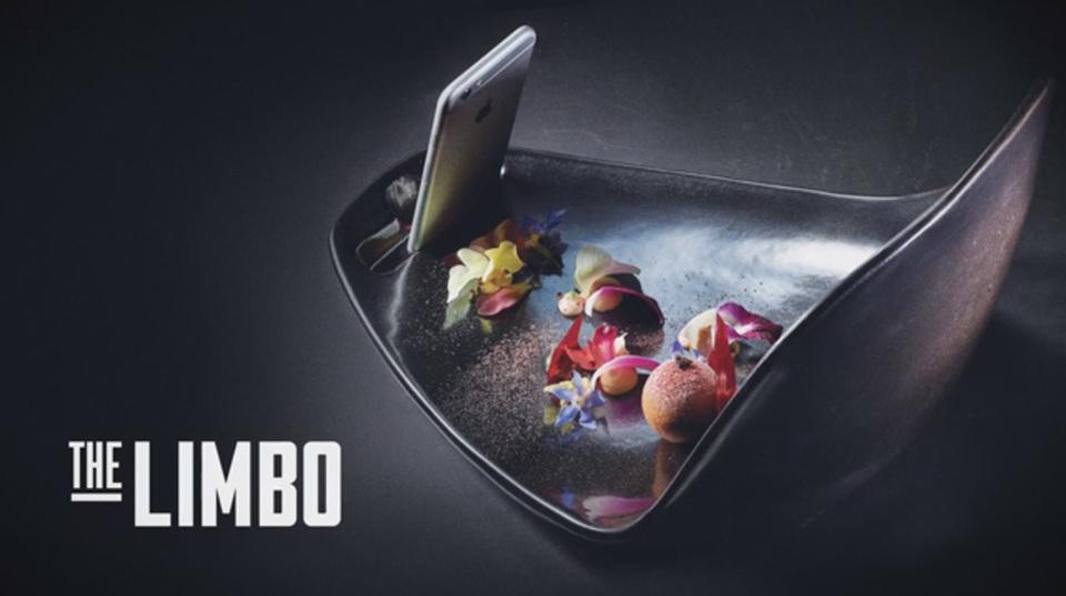 スマートフォンで美食を撮影するための特注お皿