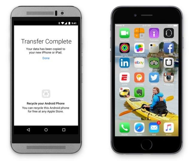 AndroidからiPhoneに乗り換えたい人向けのお助けアプリが出ます #WWDC2015