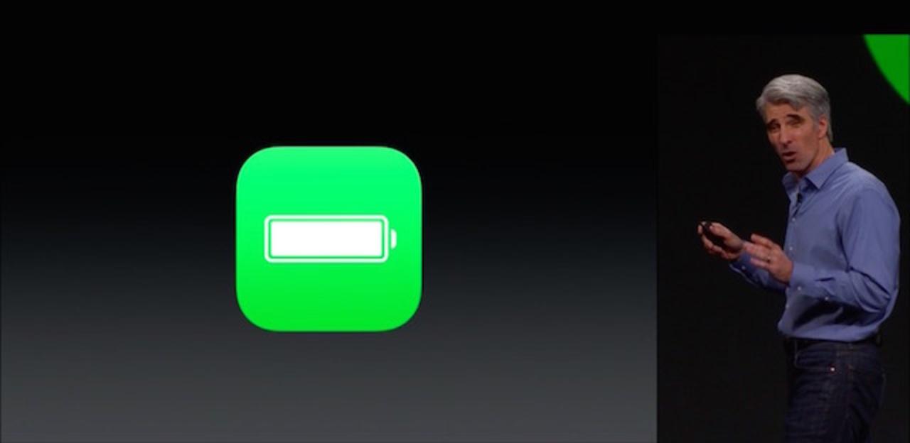 iOS 9はバッテリー駆動時間が最大3時間のびーる #WWDC2015