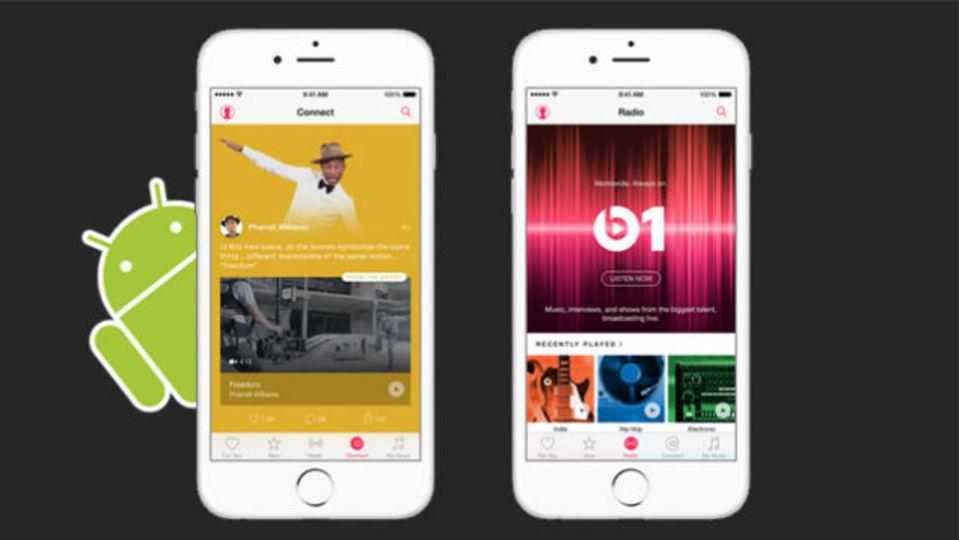 Apple Musicアプリ、Androidでも月額10ドルで提供 #WWDC2015